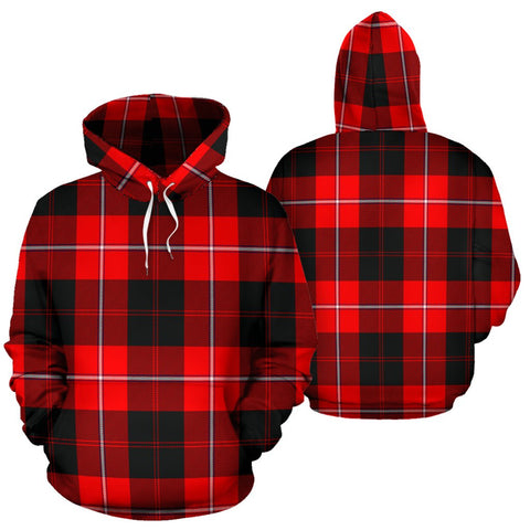 Image of Cunningham Modern Tartan All Over Print Hoodie
