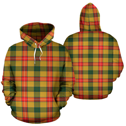 Image of Baxter Tartan All Over Print Hoodie