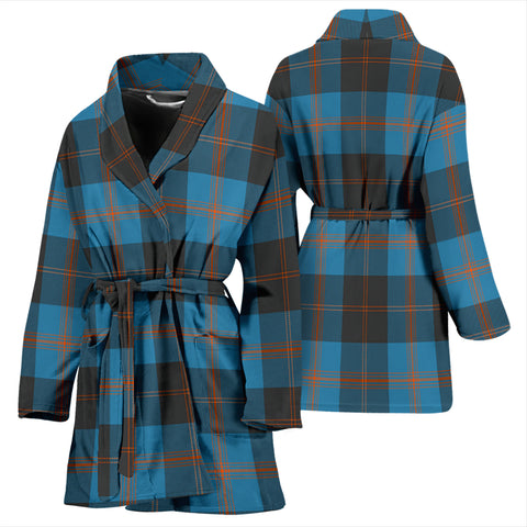 Angus Ancient Tartan Women's Bathrobe H01