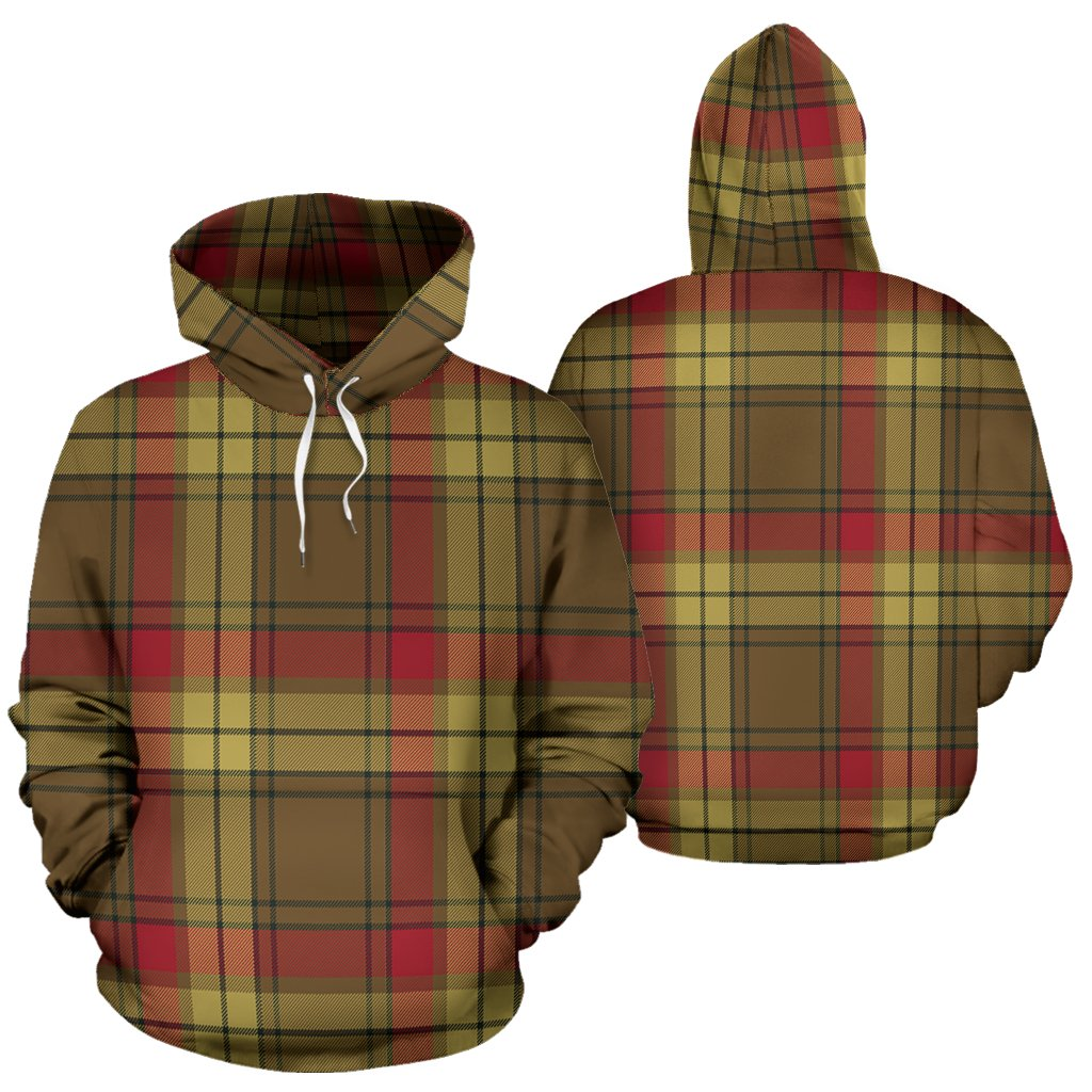 MacMillan Old Weathered Tartan All Over Print Hoodie