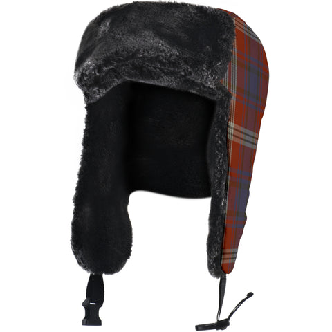 Image of Ainslie Tartan Trapper Hat H01