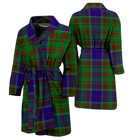 Adam Tartan Bathrobe - Men's H01