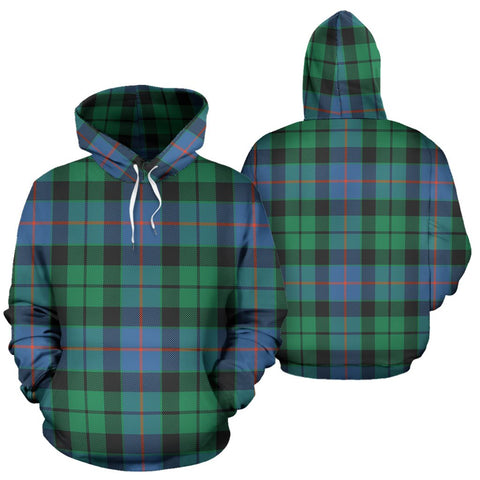 Image of Morrison Ancient Tartan All Over Print Hoodie