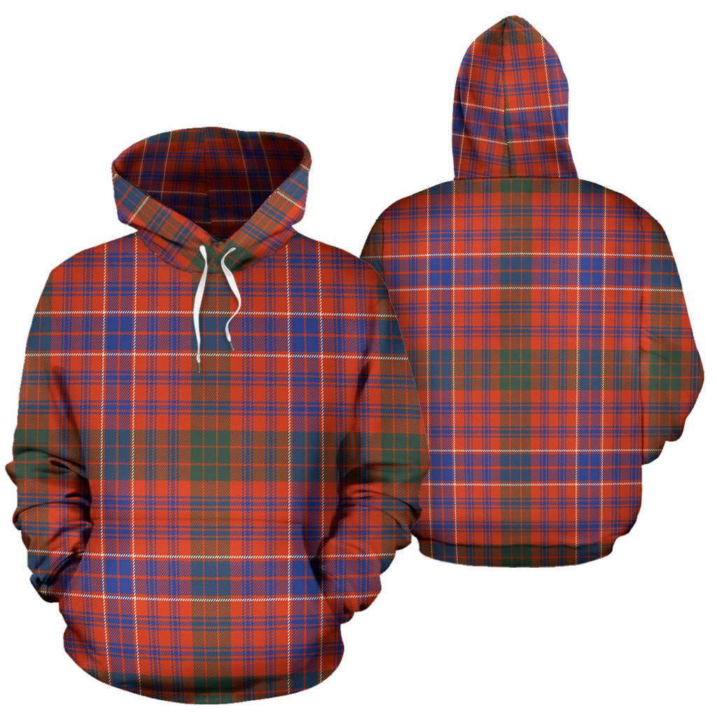 MacRae Ancient Tartan All Over Print Hoodie