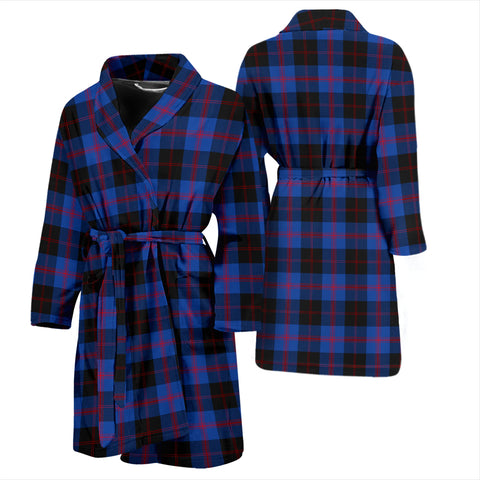 Angus Modern Tartan Bathrobe - Men's H01