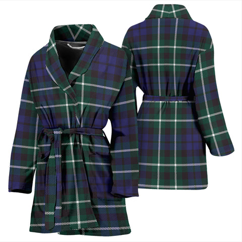 Allardice Tartan Women's Bathrobe H01