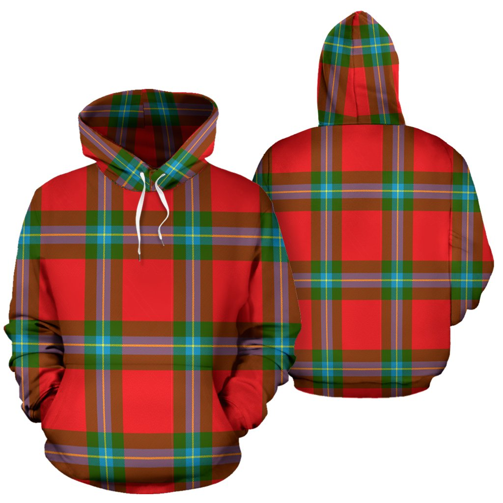 MacLaine of Loch Buie Tartan All Over Print Hoodie