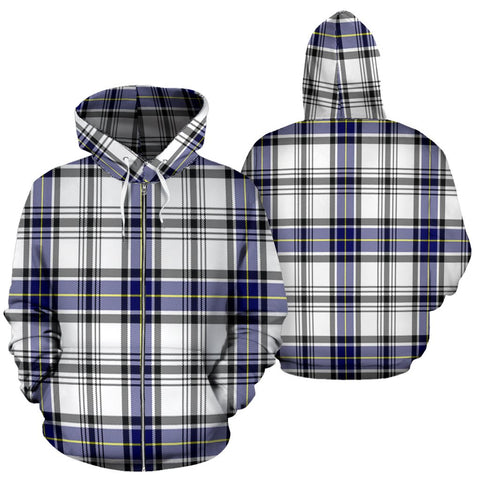Image of Hannay Tartan All Over Zip Hoodie