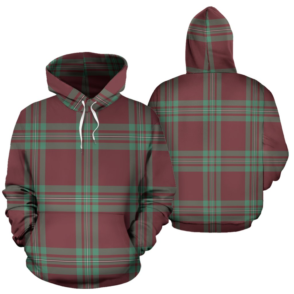MacGregor Hunting Ancient Tartan All Over Print Hoodie