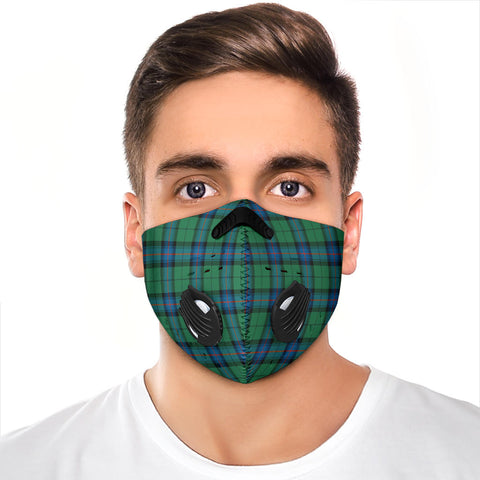 Image of Armstrong Ancient Tartan Premium Face Mask H01