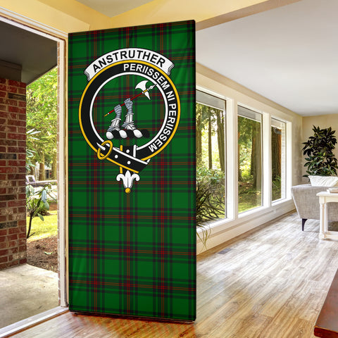 Anstruther Clan Badge Tartan Door Sock H01