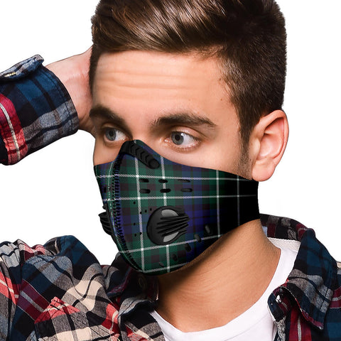 Image of Allardice Tartan Premium Face Mask H01