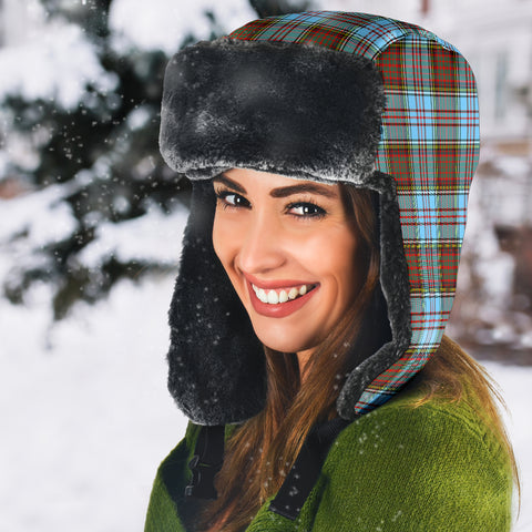 Anderson Ancient Tartan Trapper Hat H01