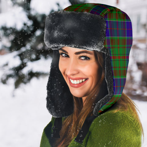 Image of Adam Tartan Trapper Hat H01