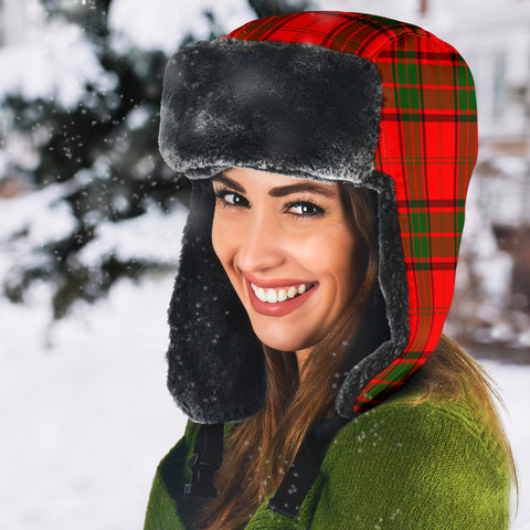 Image of Adair Tartan Trapper Hat H01