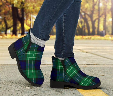 Image of Abercrombie Tartan Fashion Boots H01