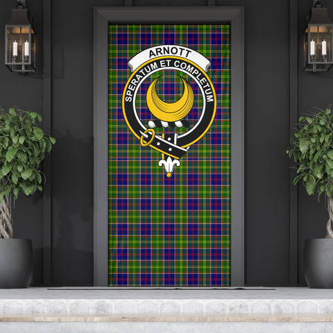 Arnott Clan Badge Tartan Door Sock H01