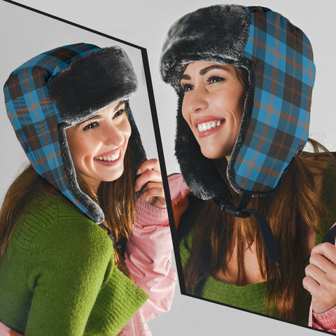 Image of Angus Ancient Tartan Trapper Hat H01