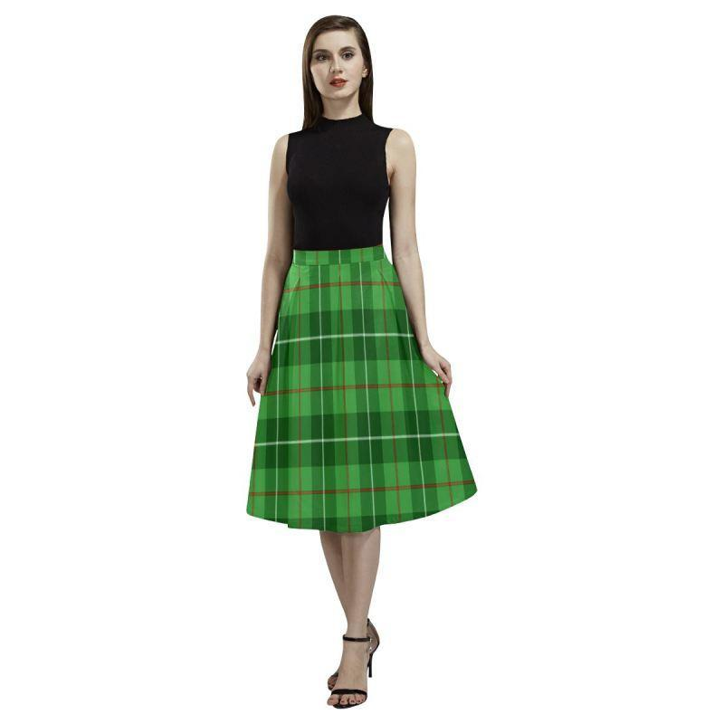 Galloway District Tartan Aoede Crepe Skirt