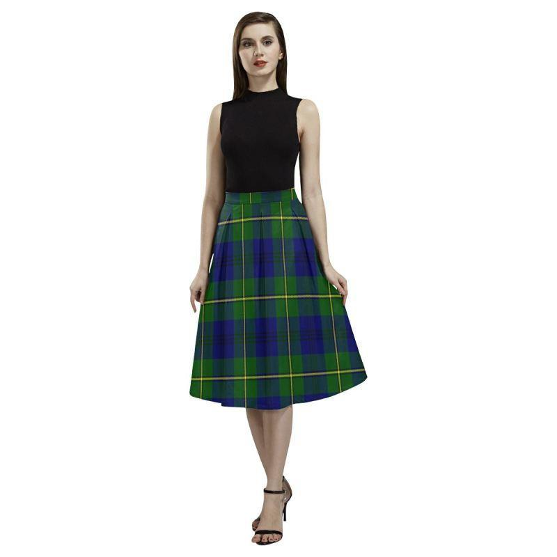 Johnston Modern Tartan Aoede Crepe Skirt