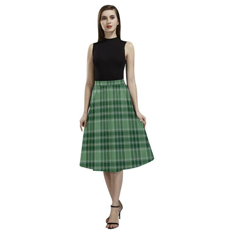 Macdonald Lord Of The Isles Hunting Tartan Aoede Crepe Skirt