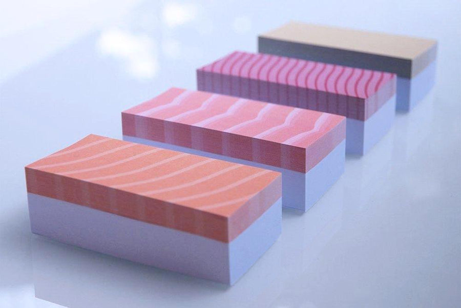sushi adhesive notes pack