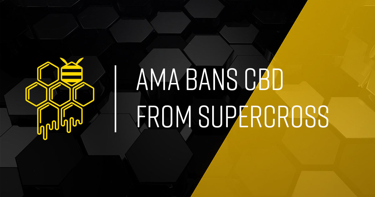 AMA Bans CBD Sponsors from Supercross
