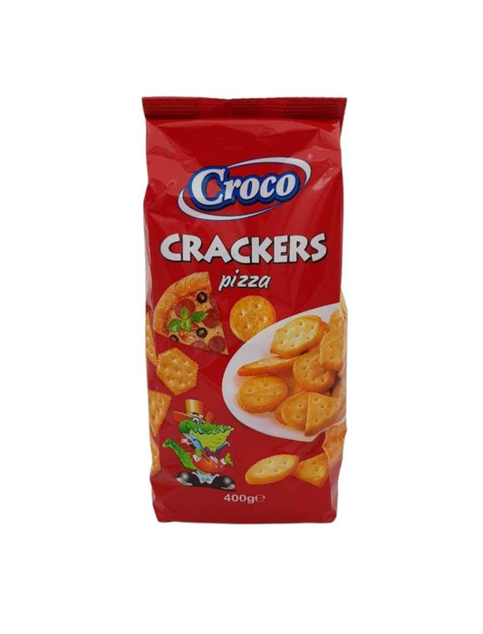 2210 Croco Crackers Pizza 12*400g - 15