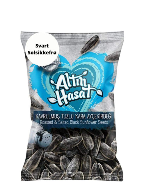 4249 Roasted & Salted Black Sunflower Seeds 170*200g - 11