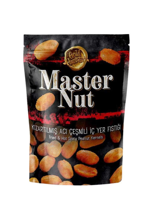 4269 Gold Harvest Nuts Fried & Hot Spicy Peanut Kernels 7*170g