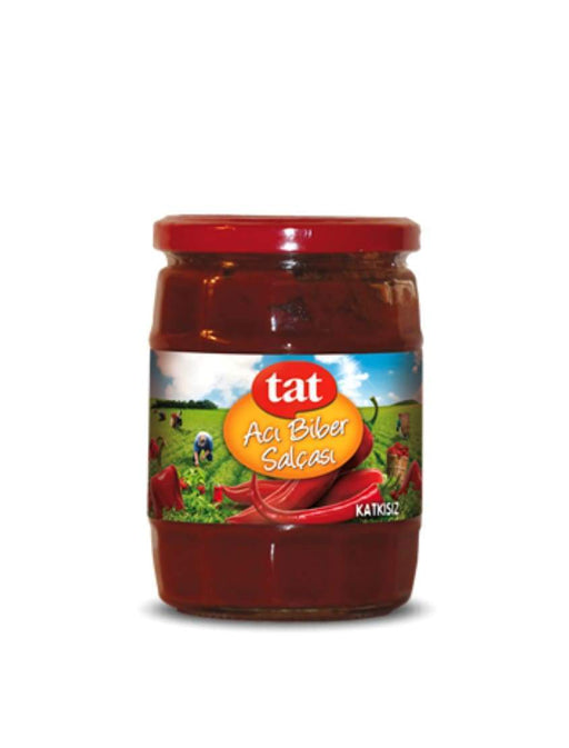 6004 Tat Hot Pepper Paste 12*550g - 18