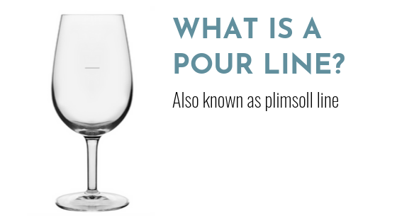 What is a pour line?