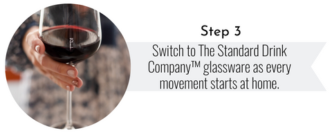 The Standard Drink Company Join the movement step 3