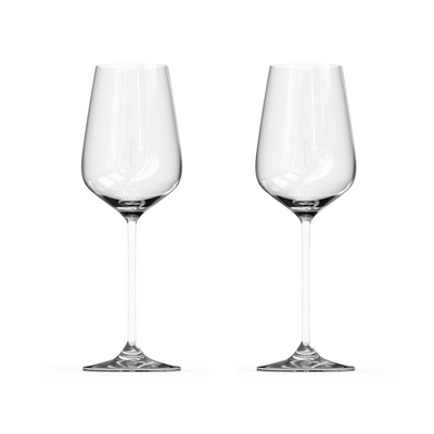Perfect For Me Time - Crystal Wine Glass, Replacement Double, Signature Pour Lines