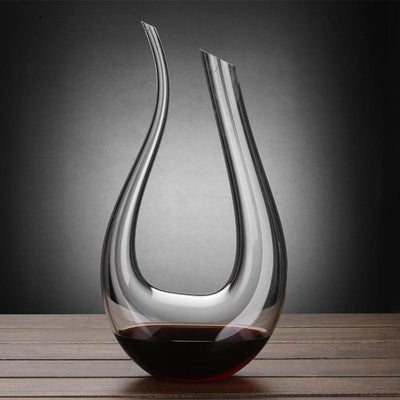 The Standard Drink Company Crystal U-shaped wine decanter gift box harp swan decanter creative wine separator