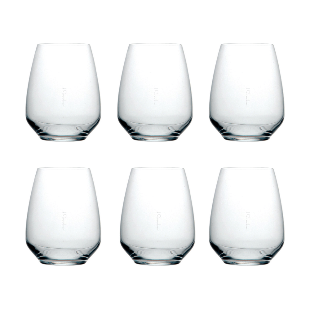 The Standard Drink Company Stemless Wine Glass Crystal stemless wine glass, Set of 6