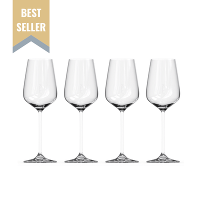 The Standard Drink Company Wine Glass Premium Gift Set Mother's Day Wine Lover Gift Bundle