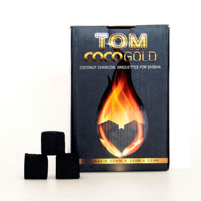 Tom Coco Gold shisha charcoal 1 kg