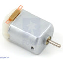 A product image of Brushed DC Motor: 130-Size, 6V, 11.5kRPM, 800mA Stall