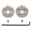 A product image of Pololu Universal Aluminum Mounting Hub for 5mm Shaft, #4-40 Holes (2-Pack)