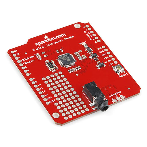A product image of SparkFun Music Instrument Shield