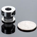 A product image of Aluminum GT2 Timing Pulley - 6mm Belt - 20 Tooth - 8mm Bore