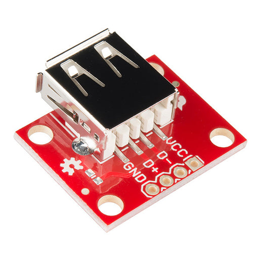A product image of SparkFun USB Type A Female Breakout