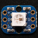 A product image of Breadboard-friendly RGB Smart NeoPixel - Pack of 4