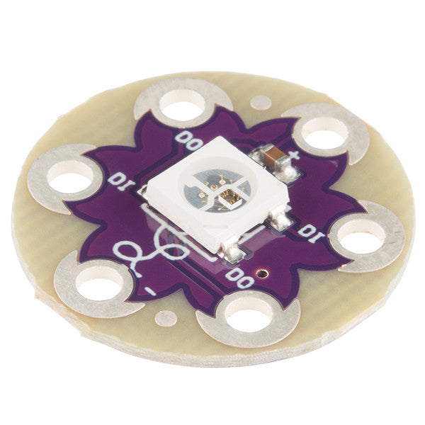 A product image of LilyPad Pixel Board