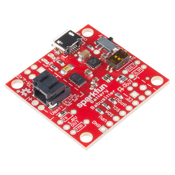 A product image of SparkFun Battery Babysitter - LiPo Battery Manager