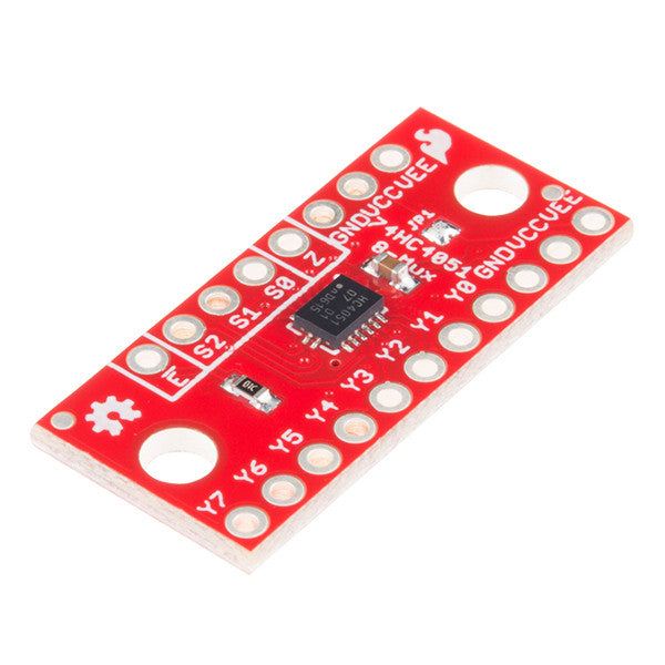 A product image of SparkFun Multiplexer Breakout - 8 Channel (74HC4051)