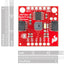 A product image of SparkFun Spectral Sensor Breakout - AS7262 Visible
