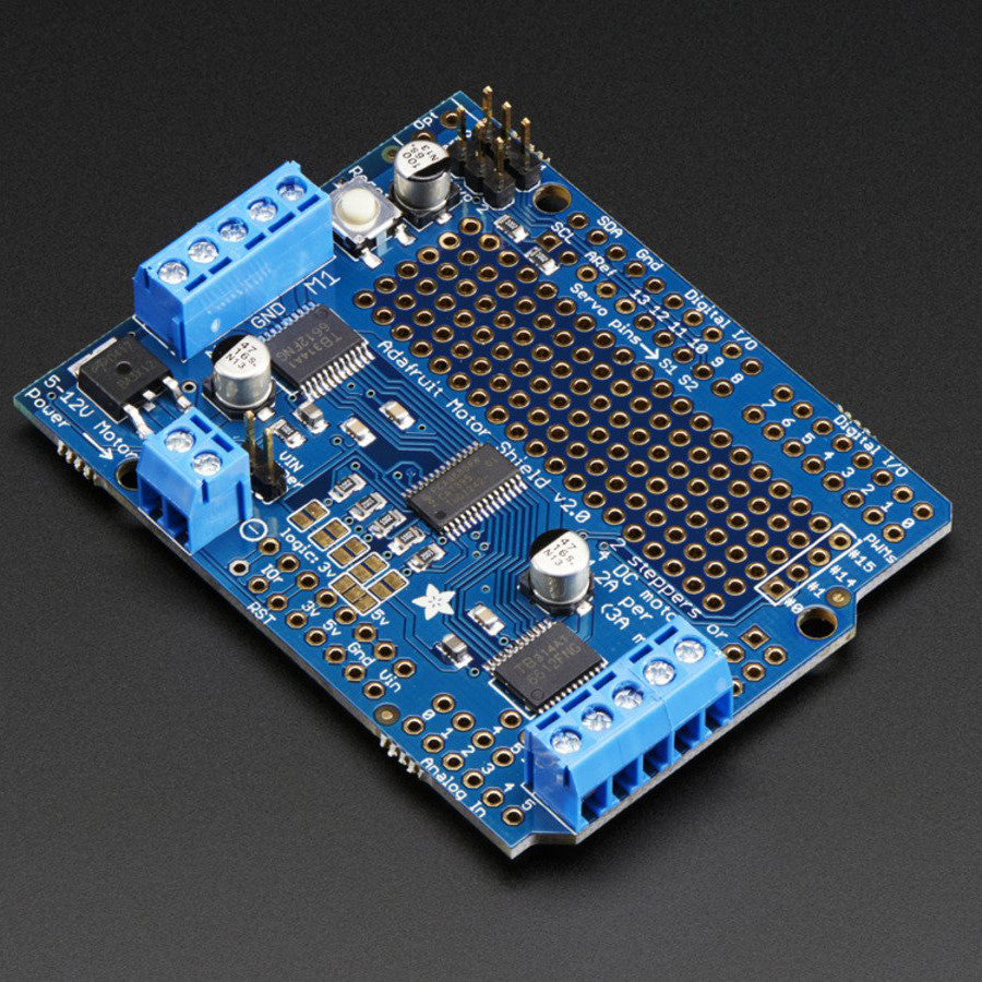 Adafruit motor stepper servo shield for arduino v kit