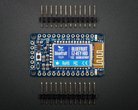 Adafruit Bluefruit EZ-Key - 12 Input Bluetooth HID Keyboard Controller